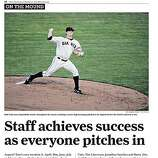 "San Francisco Chronicle's ""Giants Clinch"" Extra, Page 2."