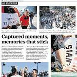 "San Francisco Chronicle's ""Giants Clinch"" Extra, Page 6."