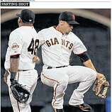 "San Francisco Chronicle's ""Giants Clinch"" Extra, Page 8."