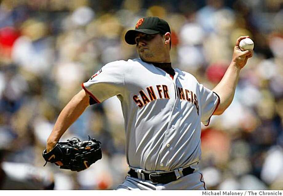 San Francisco Giants starting pitcher Noah Lowry.The San Diego Padres host the San Francisco Giants at Petco Park in San Diego on Sunday, August 5, 2007.Photo taken on 8/5/07 in San Diego, CAPhoto by Michael Maloney / San Francisco Chronicle Photo: Michael Maloney, The Chronicle