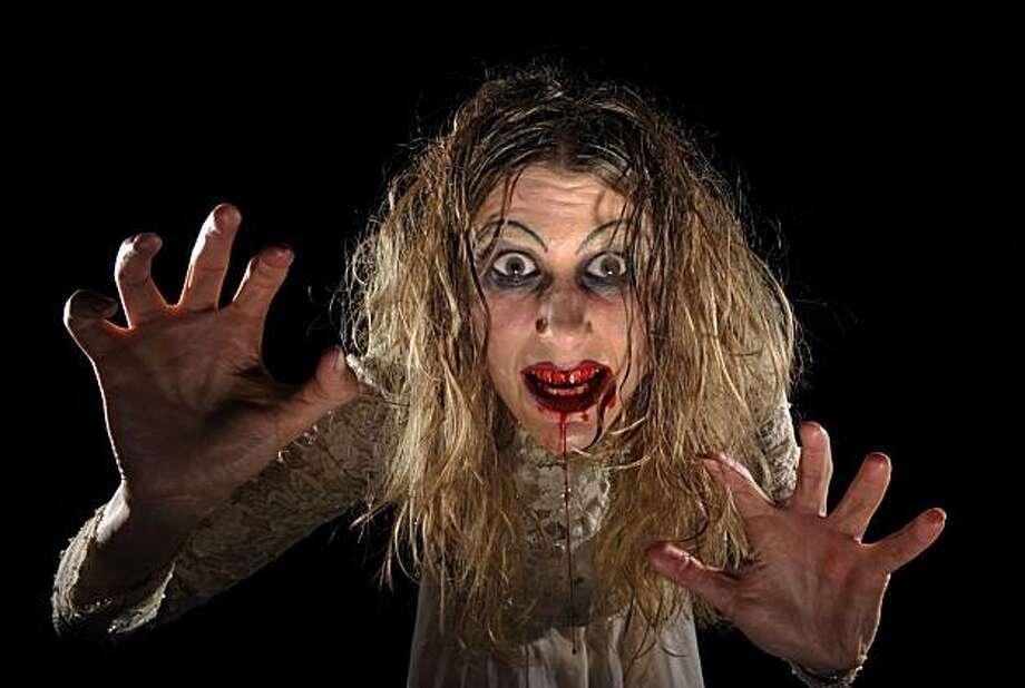 L. Ron Hubby in Thrillpeddlers Shocktoberfest!! 2010:  Kiss of Blood. Photo: Www.DavidAllenStudio.com