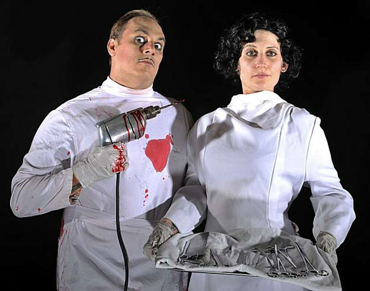 Flynn DeMarco and Bonni Suval in Thrillpeddlers Shocktoberfest!! 2010: Kiss of Blood.
