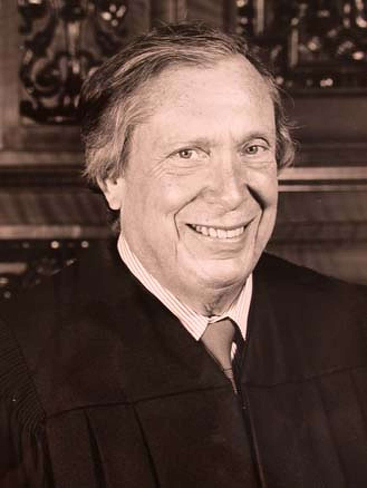 THIS IS A HANDOUT IMAGE. PLEASE VERIFY RIGHTS. REINHARDT-C-26JUN02-MN-HO Undated handout photo of Judge Stephen Reinhardt. Photo provided by the court. CAT