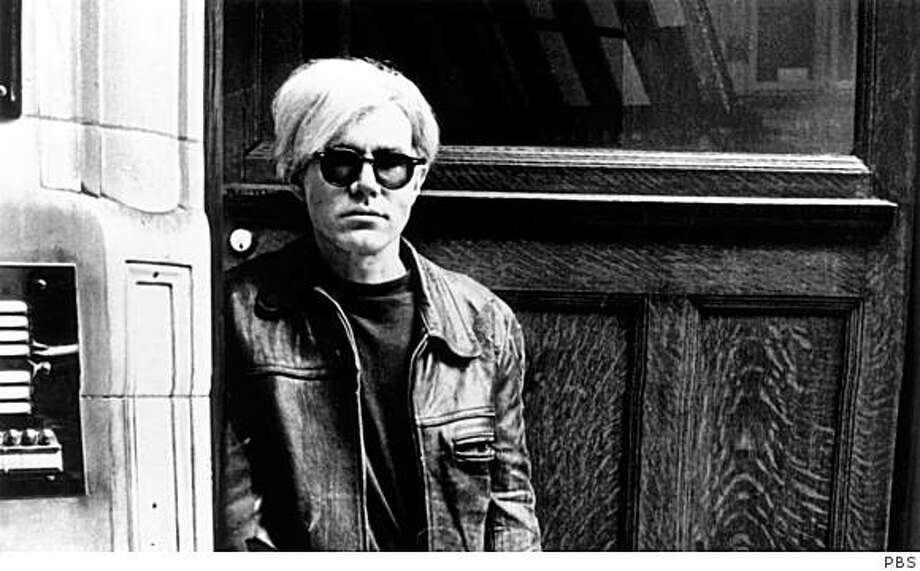 """Andy Warhol, from the American Masters documentary """"Andy Warhol: A Documentary Film""""Photo by Hulton Archive/Getty Images Photo: PBS"""