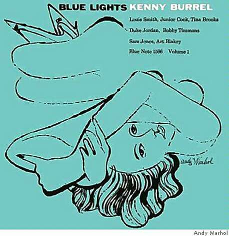 COVER ART:KENNY BURRELL?BLUE LIGHTS VOLUMES 1 AND 2? (1958)ANDY WARHOL Photo: Andy Warhol
