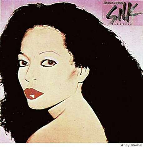 DIANA ROSS ?SILK ELECTRIC? (1982) Photo: Andy Warhol
