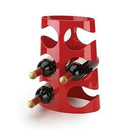 Ran Lerner's new Grapevine wine rack for Umbra,