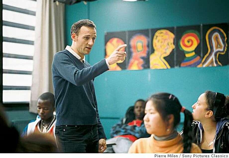 """Francois Begaudeau as Francois, the Teacher in """"The Class."""" Photo: Pierre Milon, Sony Pictures Classics"""