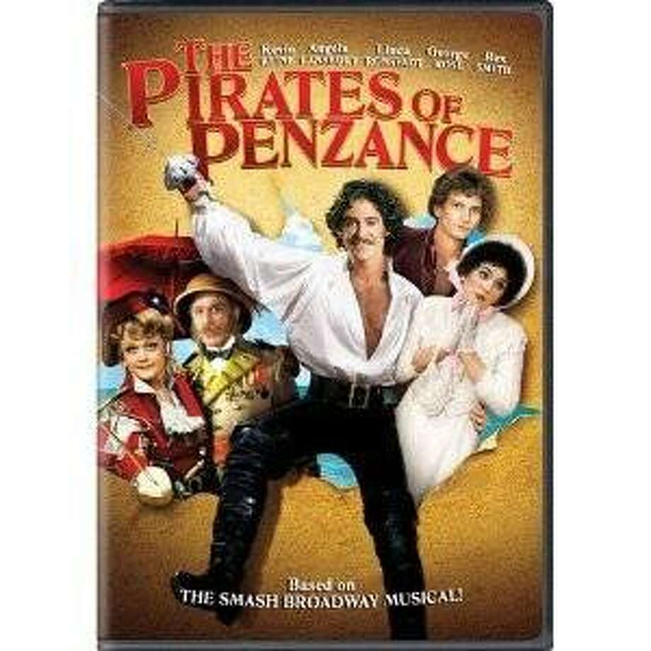 "The DVD cover ""The Pirates of Penzance."" This 1983 movie was an adaptation of a comic operetta by William S. Gilbert and  Arthur Sullivan. Photo: Amazon.com"