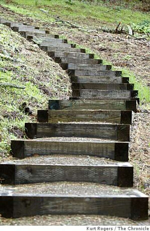 New Presidio Trail Wends Down From Overlook Sfgate