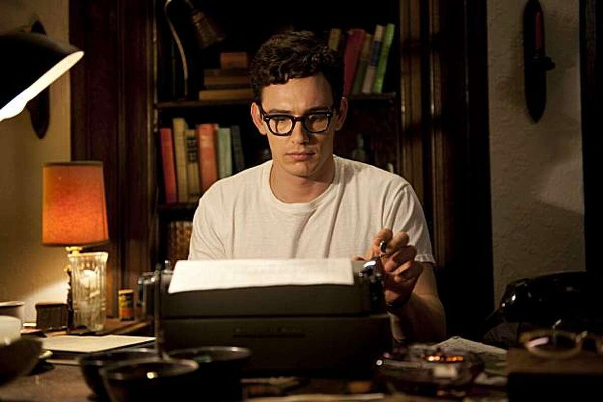 James Franco as Allen Ginsberg stars in,