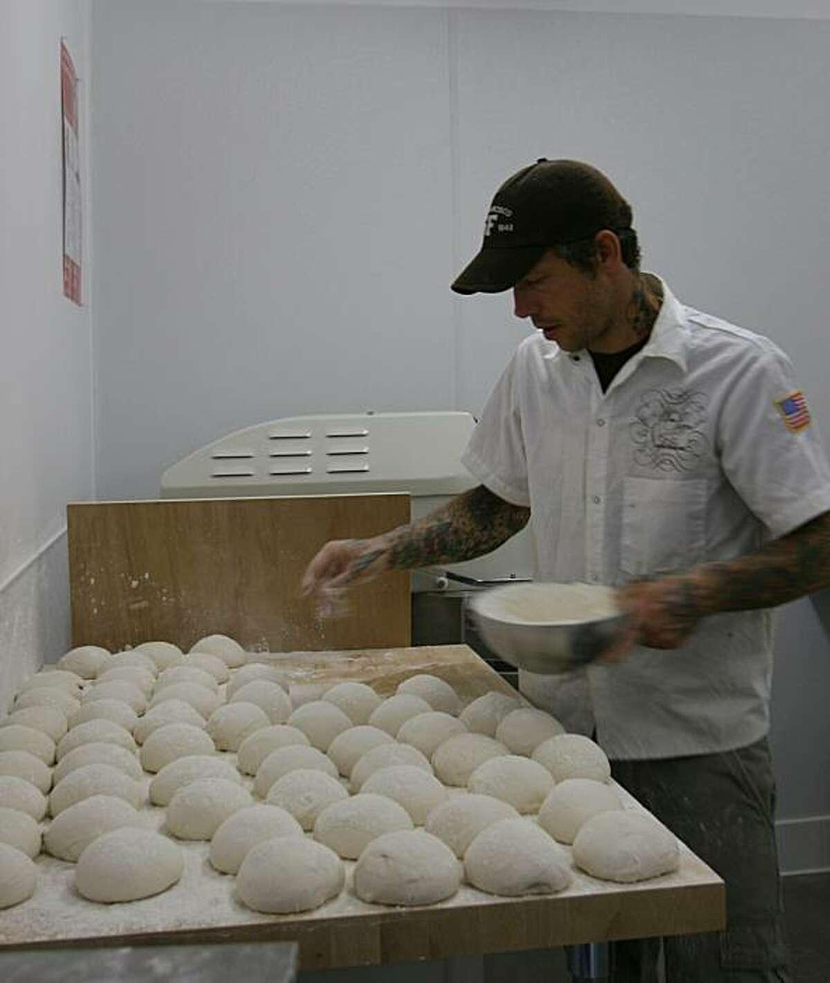 Anthony Mangieri of Una Pizza Napoletana in San Francisco's South of Market district.