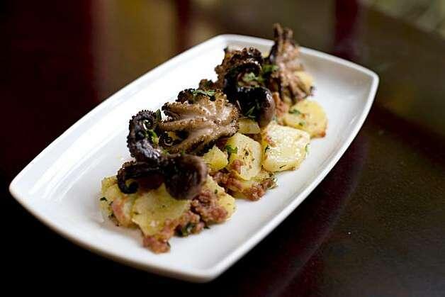 ... octopus crudo with baby yummly octopus crudo with baby potatoes recipe