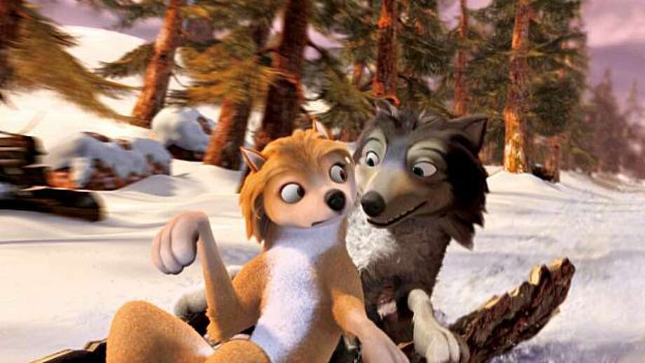 Kate (voiced by Hayden Panettiere) and Humphrey (voiced by Justin Long) in ALPHA AND OMEGA. Photo: Courtesy Of Lionsgate And Crest