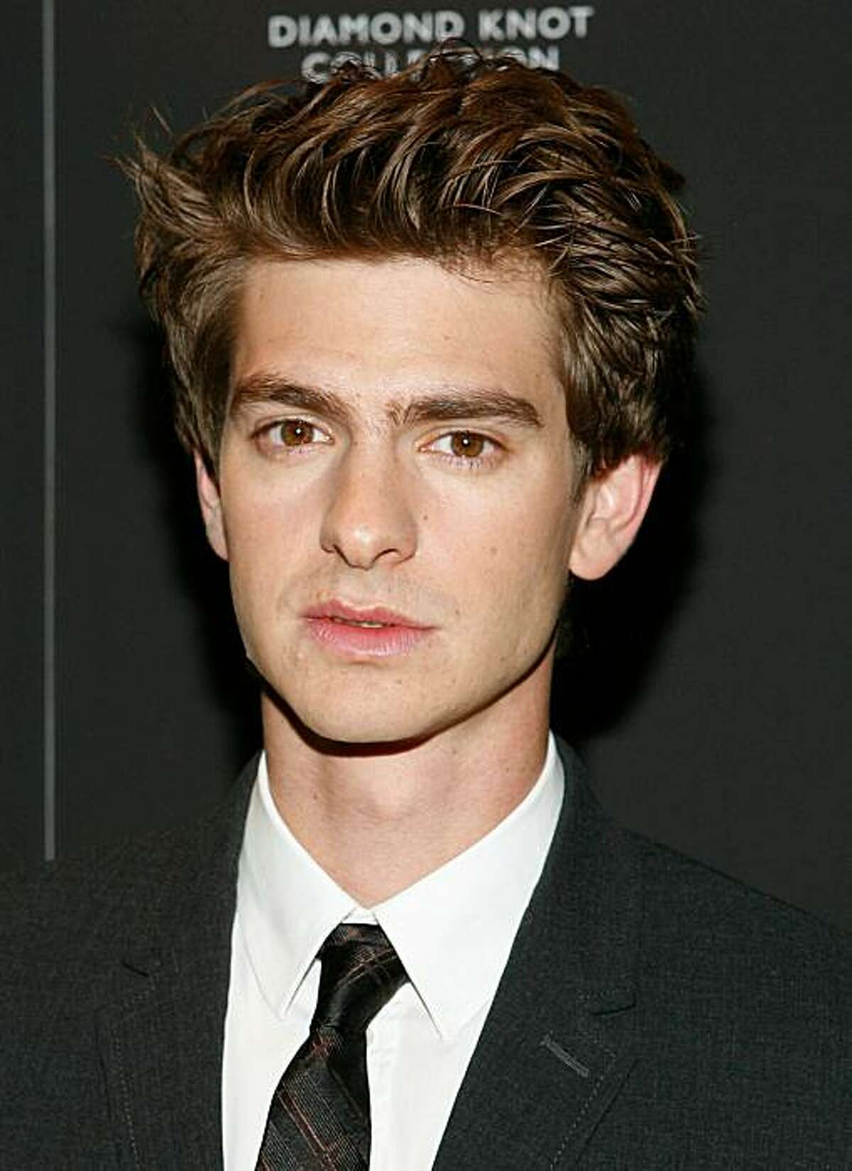 """NEW YORK - SEPTEMBER 14: Actor Andrew Garfield attends the """"Never Let Me Go"""" special screening at Tribeca Grand Hotel on September 14, 2010 in New York City."""