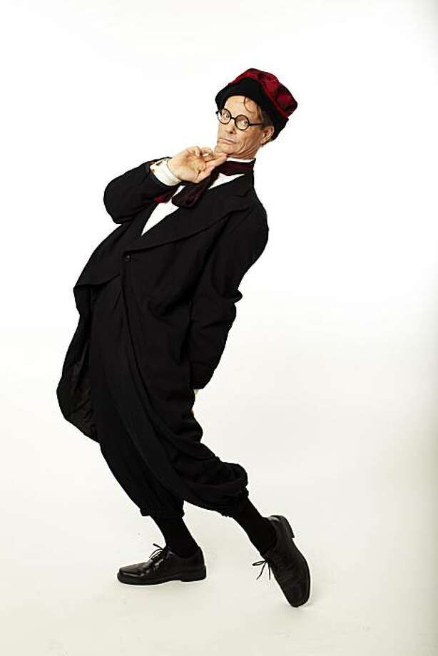"""Bill Irwin in character for """"Scapin,"""" adapted and directed by Irwin for ACT Photo: Scott Clark"""