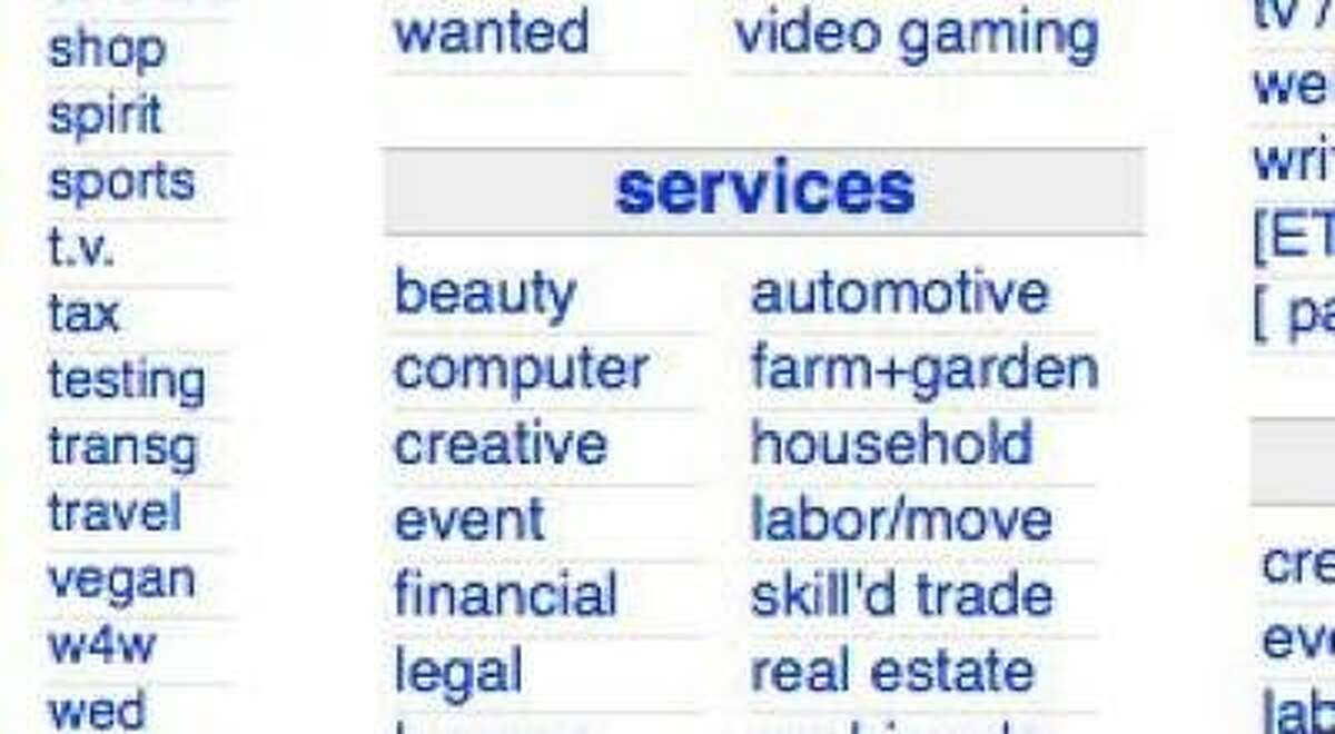 The controversial Craigslist adult services section, which attorneys general in 18 states have demanded be taken down, has been deactivated and covered with the word