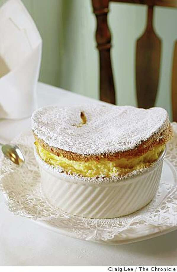 Grand Marnier souffle at Cafe Jacqueline, 1454 Grant Avenue, in San Francisco, Calif., on January 15, 2009. Photo: Craig Lee, The Chronicle