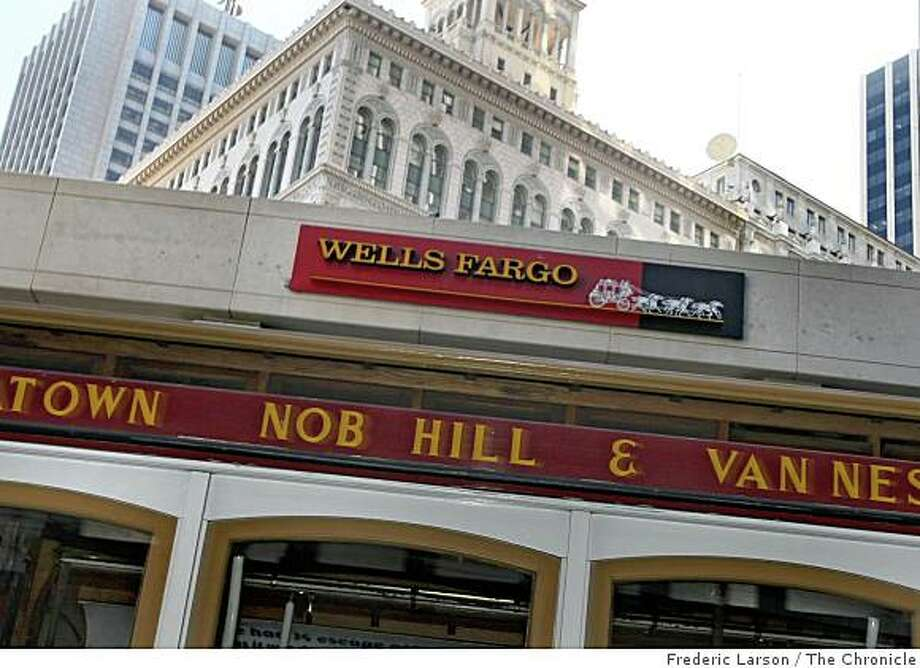Wells Fargo reported a $2.83 billion loss for the fourth quarter.Wells Fargo Bank on California Street in San Francisco, Calif., October 14, 2008. Photo: Frederic Larson, The Chronicle