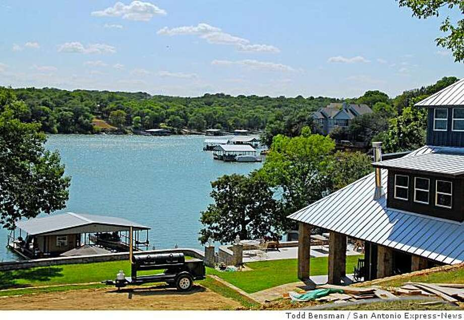 This former section of the Sid Richardson Scout Camp was sold to housing developers who are selling lakeside and inland lots for luxury homes. Developers approached the Longhorn Council with an unsolicited $5-million offer to buy part of a camp that wasn't in use. Today, housing developers are selling lakeside and inland lots for luxury homes. Photo: Todd Bensman, San Antonio Express-News