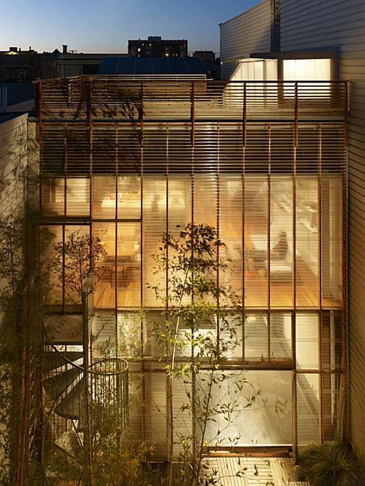 Mission House garden facade - night.jpg