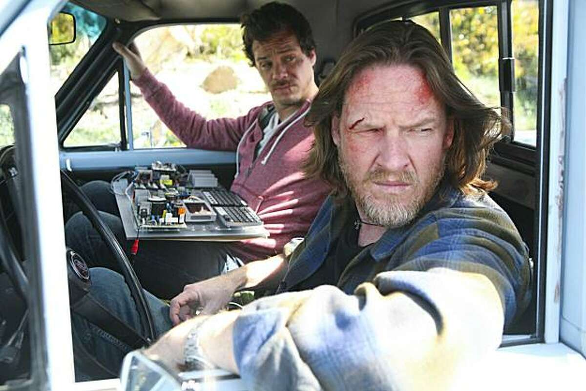 TERRIERS: R-L: Donal Logue as Hank Dolworth and Michael Raymond-James as Britt Pollack in TERRIERS premiering Wednesday, Sep. 8 on FX.
