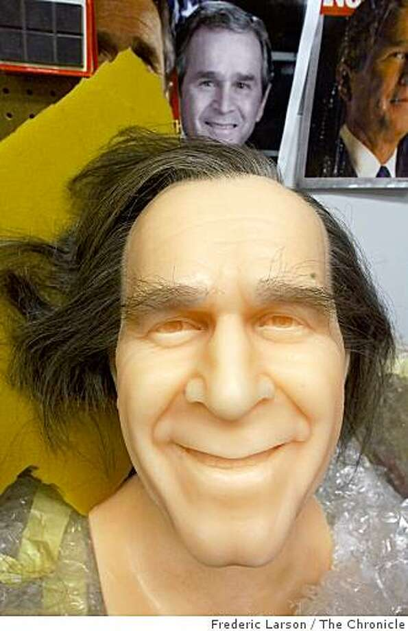 The Wax Museum at San Francisco Fishermen Wharf will be adding President George W. Bush to it's stellar cast of characters. Chronicle photo by Frederic Larson Photo: Frederic Larson, The Chronicle