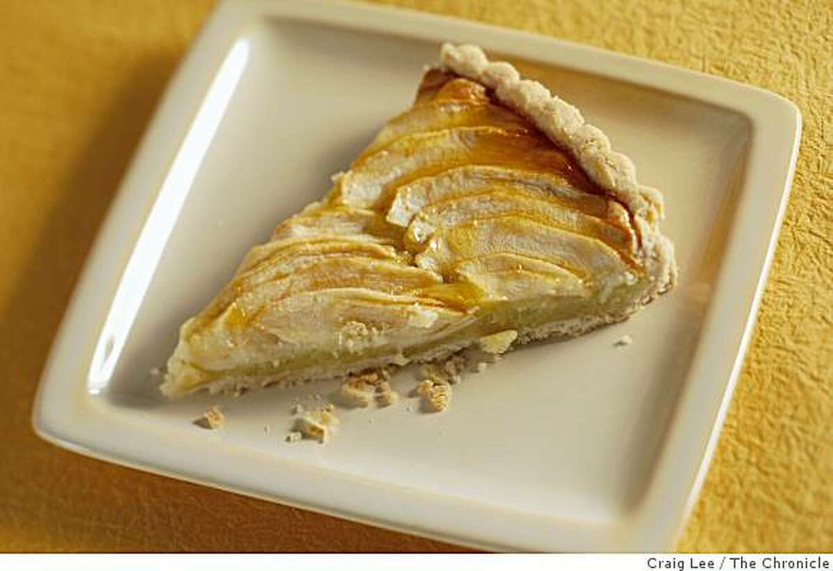Apple tart, in San Francisco, Calif., on January 15, 2009. Food styled by Debra Day.