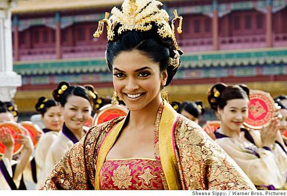 "DEEPIKA PADUKONE as Sakhi in the action comedy ""Chandni Chowk to China,"" distributed by Warner Bros. Pictures. Photo: Sheena Sippy,, Warner Bros. Pictures"