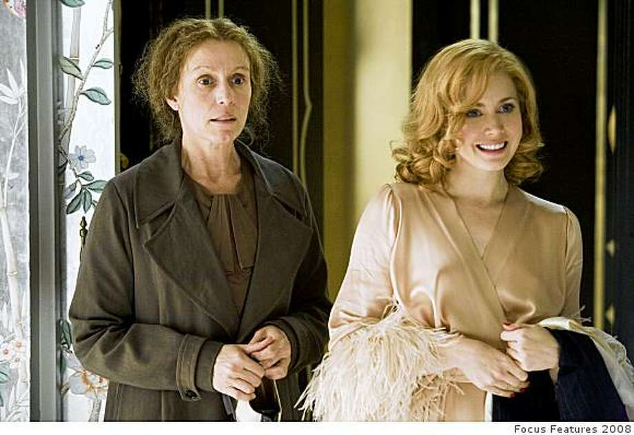 ", Frances McDormand, left, and Amy Adams in  ""Miss Pettigrew Lives For A Day."" Photo: Focus Features 2008"