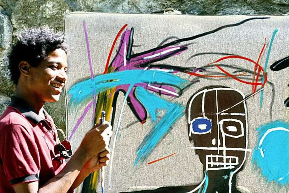 JEAN-MICHEL BASQUIAT: THE RADIANT CHILD, an Arthouse Films release 2010. Photo: Photo Courtesy Of Lee Jaffe.