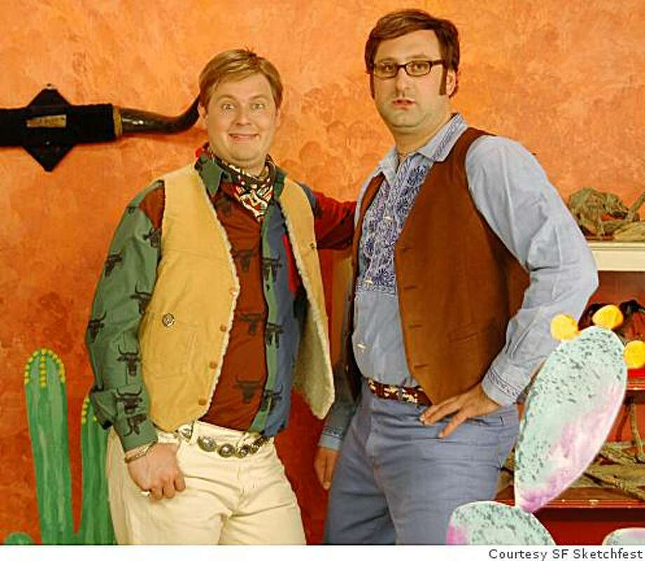 Tim and Eric from SF Sketchfest Photo: Courtesy SF Sketchfest