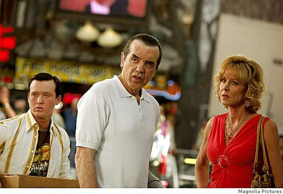"Tom Guiry, Chazz Palmineri and Christine Lahti in ""Yonkers Joe."" (2009) Photo: Magnolia Pictures"