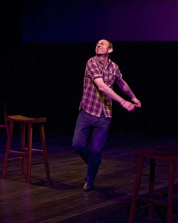 "David Cale performing his solo show ""Palomino"" Photo: Craig Schwartz"