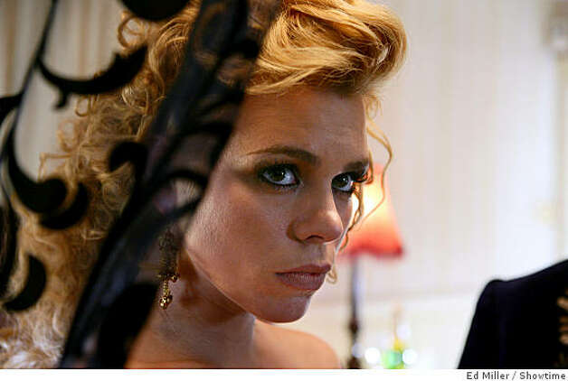 "Billie Piper as ""Hanna""(aka ""Belle"") in Secret Diary of a Call Girl (Season 2) Photo: Ed Miller, Showtime"