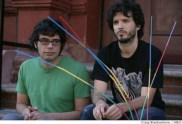 """Flight of the Conchords"": Jemaine Clement, Bret McKenzie. Photo: Craig Blankenhorn,, HBO"