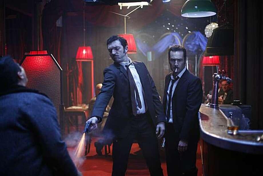 "Jacques Mesrine (Vincent Cassel) and Paul (Gilles Lellouche) appear in, ""Mesrine: Killer Instinct."" Photo: Music Box Films"