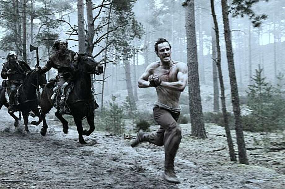 Michael Fassbender in CENTURION, a Magnet Release. Photo: Courtesy Of Magnet Releasing