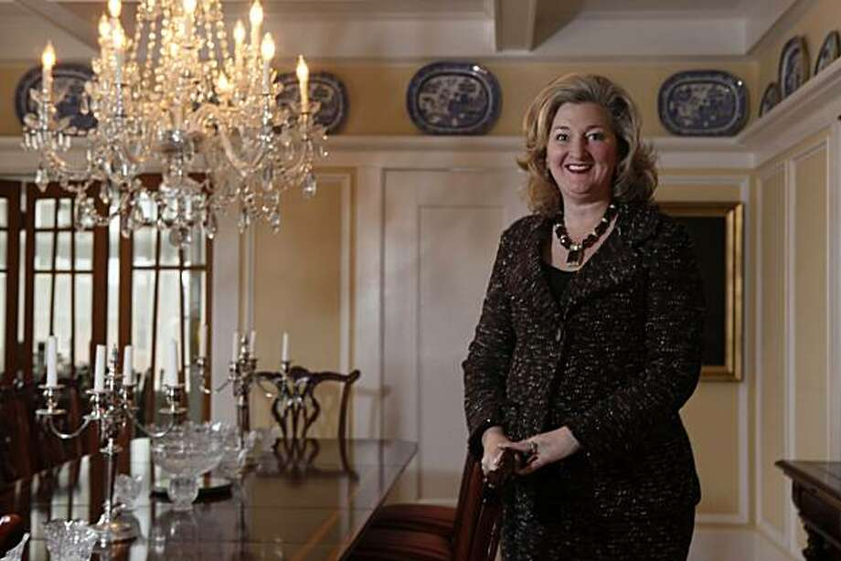 Former supervisor Annemarie Conroy is seen in her dining room in San Francisco, Calif. on Friday August 20, 2010. Photo: Lea Suzuki, The Chronicle