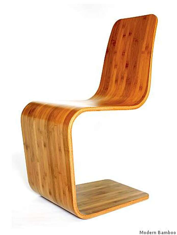 spring chair from Modern Bamboo $700. Photo: Modern Bamboo