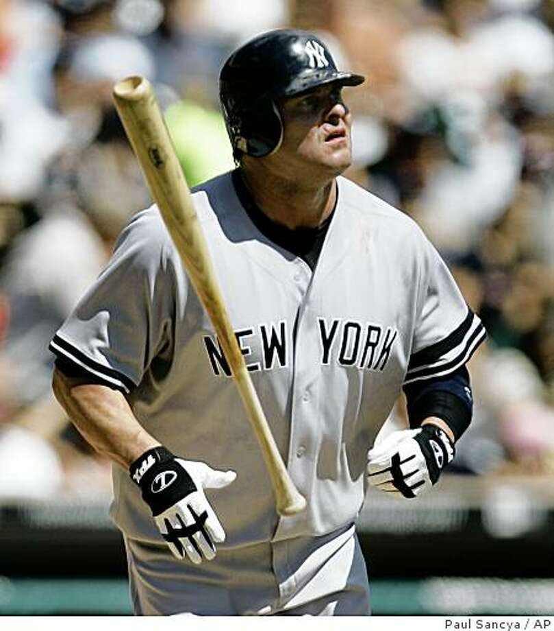 Jason Giambi could be on his way back to the A's. Photo: Paul Sancya, AP