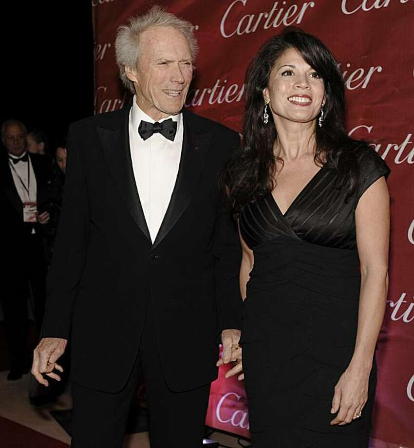 Clint Eastwood, recipient of the Career Achievement Award, arrives with his wife Dina at the 20th Annual Palm Springs International Film Festival Awards Gala in Palm Springs, Calif., Tuesday, Jan. 6, 2009. (AP Photo/Chris Pizzello) Photo: Chris Pizzello, AP