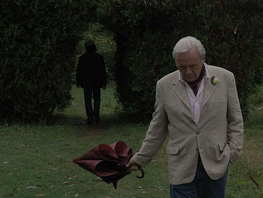"Anthony Hopkins in ""The City of Your Final Destination. Photo: Screen Media Films"