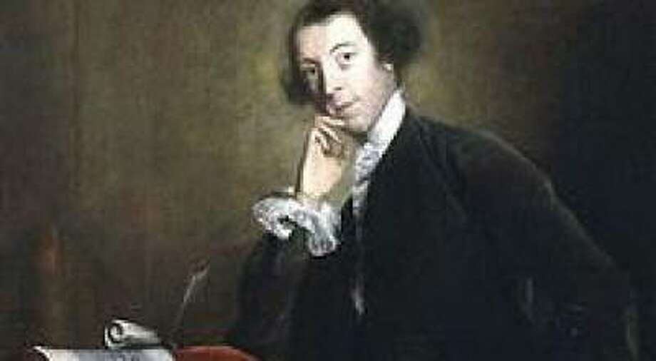 Horace Walpole (by Joshua Reynolds 1756 Photo: National Portrait Gallery London