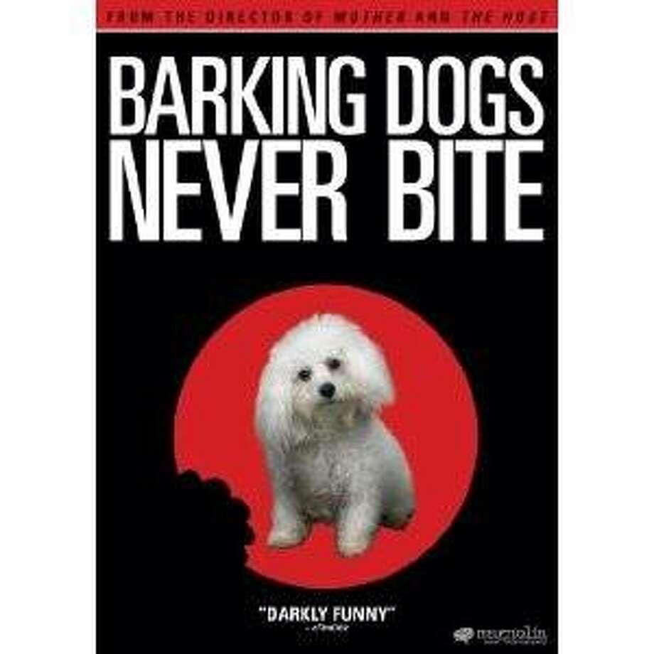dvd cover BARKING DOGS NEVER BITE Photo: Amazon.com