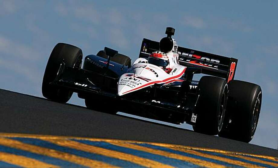 SONOMA, CA - AUGUST 21:  Will Power of Australia, driver of the #12 Verizon Team Penske Dallara Honda, on track during qualifying for the IZOD IndyCar Series Grand Prix of Sonoma at Infineon Raceway on August 21, 2010 in Sonoma, California. Power was fastest in qualification and will have the pole position for the race. Photo: Donald Miralle, Getty Images
