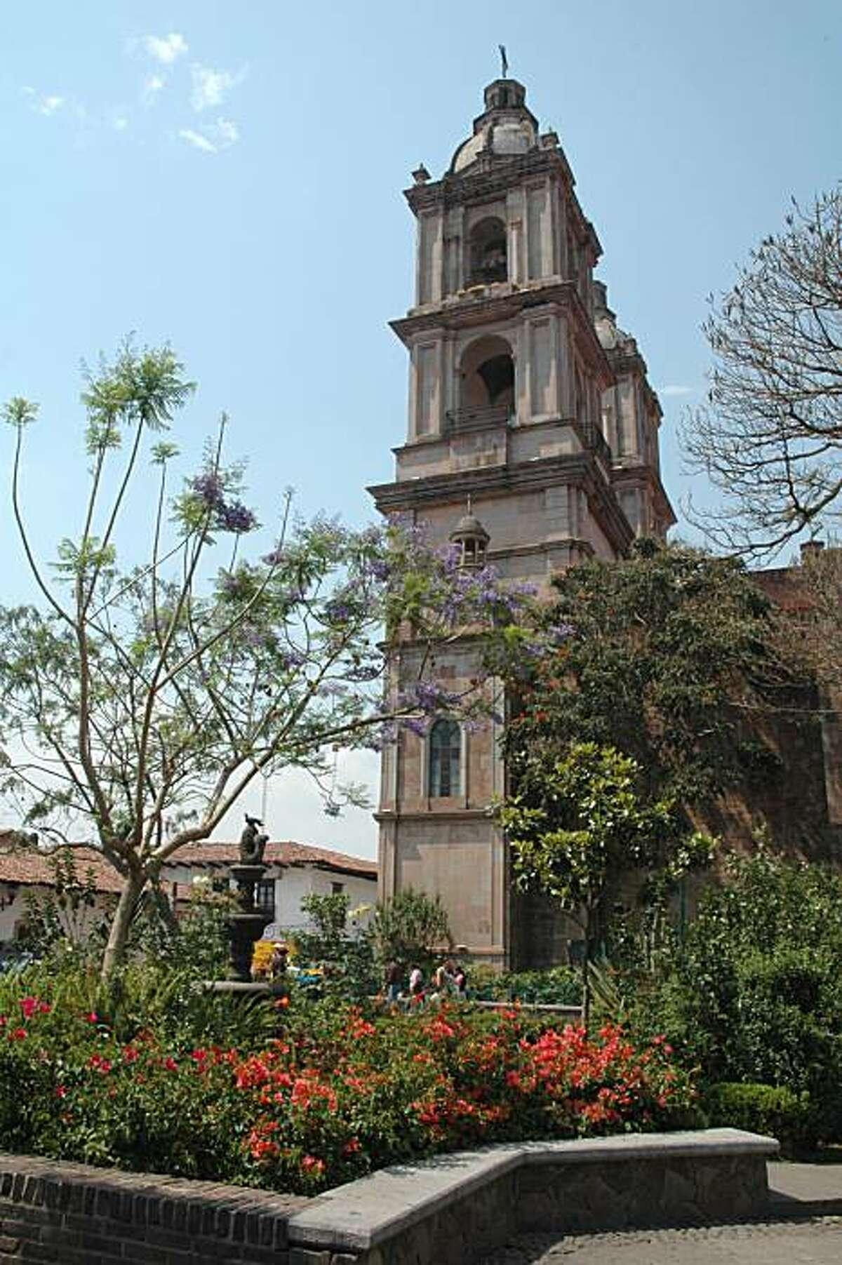 Valle de Bravo, Guerrero, Mexico - Zocalo