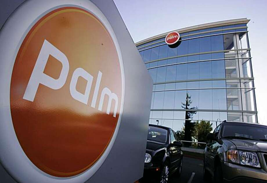 Sunnyvale's Palm Inc. said Wednesday that  it has raised $100 million from a  private investment firm, sending  the smart phone maker's shares  soaring 22 percent on hopes that it  will be able to revive its ailing  business in the coming year. Photo: Paul Sakuma, AP