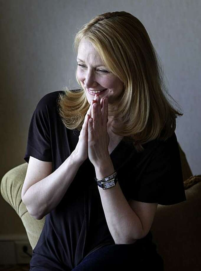 "Actress Patricia Clarkson sits at the Fairmont Hotel, Thursday April 29, 2010, in San Francisco, Calif. She is on the movie circuit for her up coming, "" Cario Time"". Photo: Lacy Atkins, The Chronicle"
