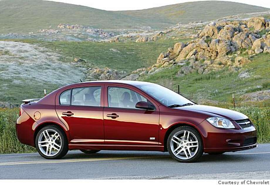 2009 Chevy Cobalt SS Photo: Courtesy Of Chevrolet